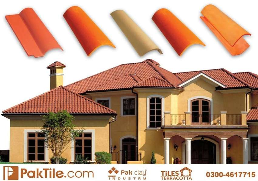 A 1 Quality Clay Roof Tiles in Pakistan 0