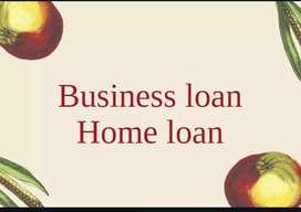 Business loan and Home loan.