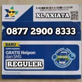 Nomor cantik triple angka minimalis spesial XL AXIATA 333