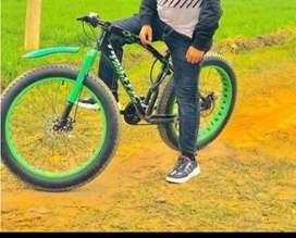 Fat bike big tyear