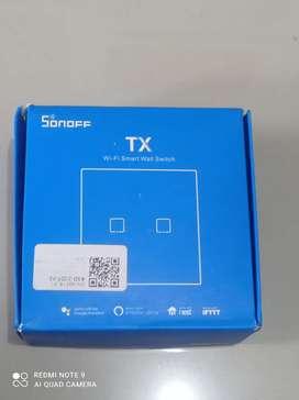 Sonnoff Smart Wall Switch 2 Gang WiFi Wireless