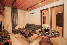 On Airport Road-Semi furnished 3 BHK Floor with Store & Lifts @ 47 Lac