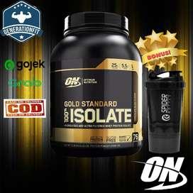 ON Gold Standard 100% Whey protein Isolate 5 Lbs Binaraga