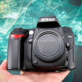 Nikon D90 Body Only. Like New. Sc 1rb. Super Langka