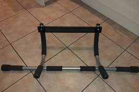 Iron Gym is able to most effective be hung in a doorway whilst using.