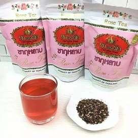 Rose tea chatramue Thailand tea