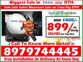 DTH Biggest Sale In All India Tata Sky, Dishtv & Airteltv Tatasky DTH!
