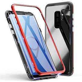 Case Samsung glaxy S9 Backcase Magnetic 2in1 Magnet premium