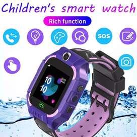 Smartwatch Gps Sos Anak Waterproof Model Seri Q12