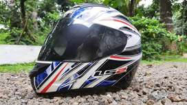 LS2 FF 352 ATMOS Blue and White Helmet