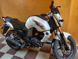 FZ - S White with Blue Single Owner