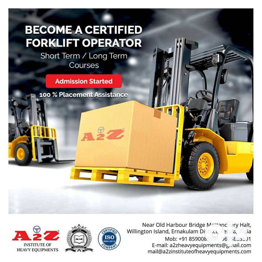 Forklift Operator Training Course with Placement Assistance 0