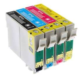 Epson Ink Cartridges T0711 T0712 T0713 T0714.