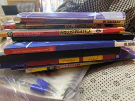 Matric books notes and past papers
