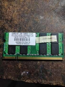 DDR2 Ran for laptop