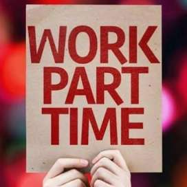 Work from home @ part time job