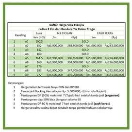 Gratis Pajak Dll Kapling 1Jt'an SHM Pecah Unit Dkt YIA, Kulon Progo