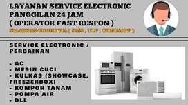 Service Kulkas Ac cuci isi freon servis mesin cuci Sedati sidoarjo
