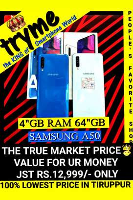 TRYME 6Gb Ram SAMSUNG A50, Frssh Conditions