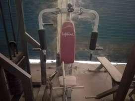 Second hand gym apparatus