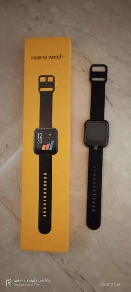 One day used REALME SMART WATCH for urgent sale