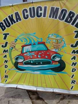 TJ. Mandiri car was and salon