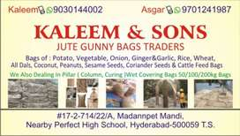 Jute Gunny Bags Traders & Pillar (Column, Curing) Wet Covering Bags