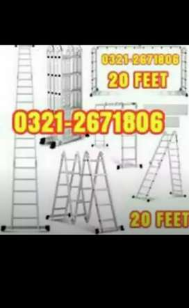 ALMUNIUM LADDER 20 FEET
