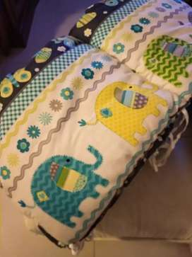 Baby crib bumper / bantalan box bayi