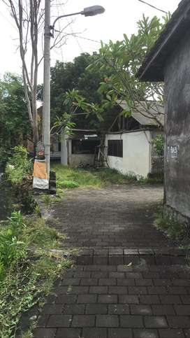 Tanah ada bangunan bekas gudang