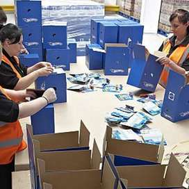 Female Staff for packaging job