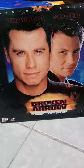 Laser disc movie Broken Arrow