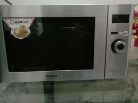 Homeage microwave oven with grill two in one