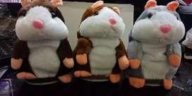 toy boneka hamster bisa bicara talking hamster mainan anak