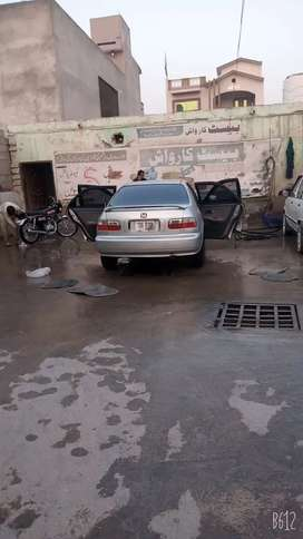 A well maintain car for sale used under army officer