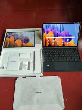 Samsung tab s7 BNOB dengan keyboard