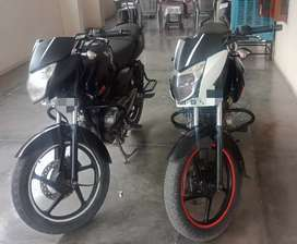 Baja Pulsar 135 Ls,(2 PC) 2014 & 2013 Mdl, Showvroom condition,Jal no
