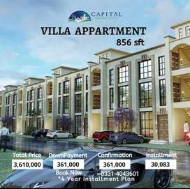 The Villas Apartments 1 & 2 Bed Flats Affordable 4 Year Plan
