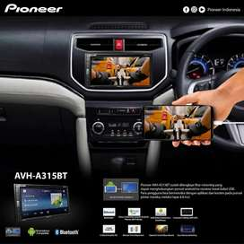 Double Din Pioneer Mirrorlink Bluetooth AVH A315BT Include Instalasi