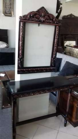 New brand console with mirrorf rame