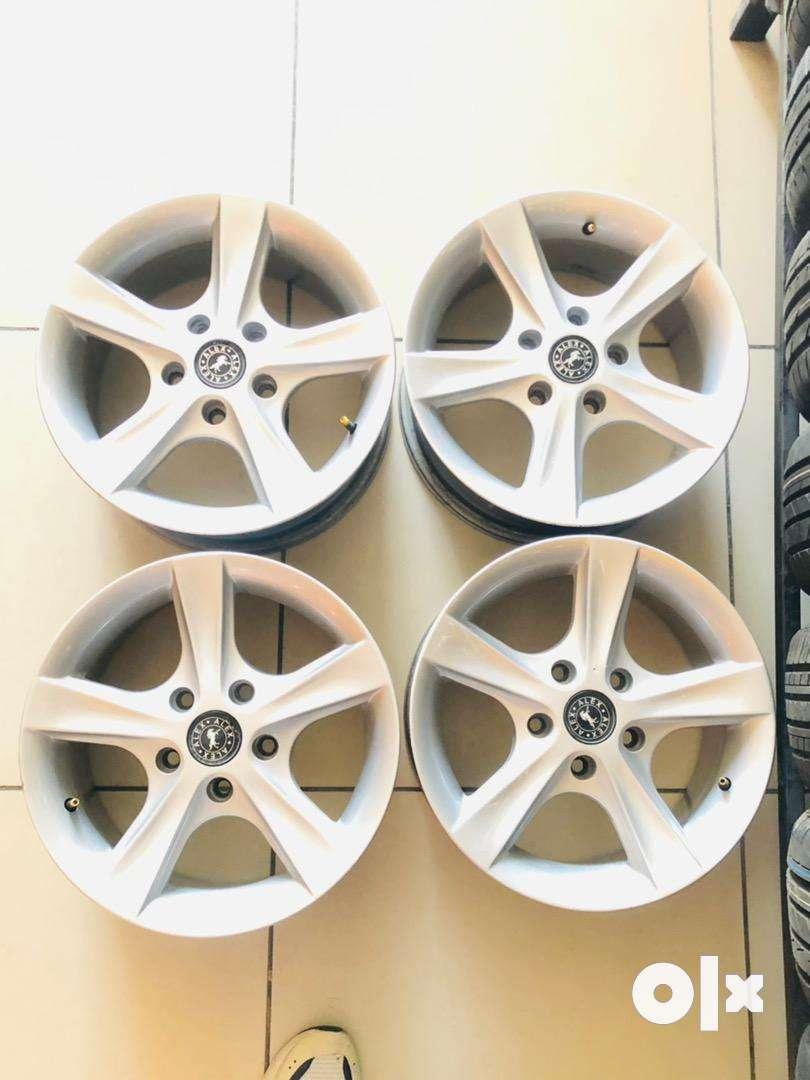 "15 "" inch Alloy wheels for innova , ertiga , SX4 ,"