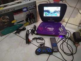 Tv Portable Gmc Bisa Usb, Dvd, Cd Dan Lengkap. Harga Bisa Nego