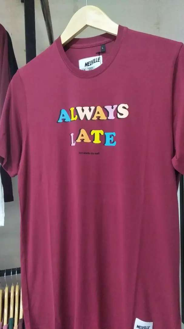 """Melville """"always late"""" 0"""