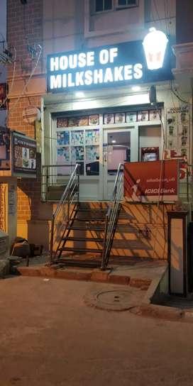 Sale House of milkshakes , Nizampet