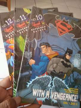 komik Superman judul With Vengeance 1-3