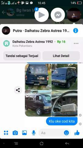 Mobil zebra thn 92 ss lengkap pajak hidup harga 16000000  nego
