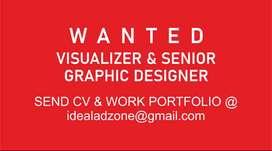 Wanted Visualizer & Senior Graphic Designer