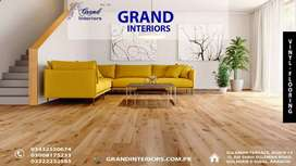 Vinyl flooring or Wallpapers by Grand Interiors