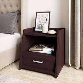 Engineered Wood Bed Side Table