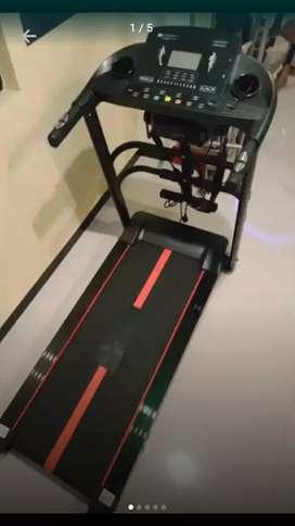 pusat alat fitnes treadmill elektrik tl 615 4 fungsi murah baru